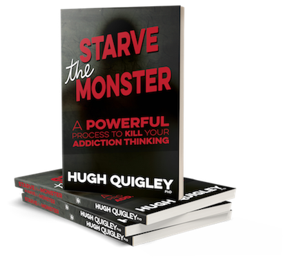 Starve the Monster - kill your addiction thinking Hugh Quigley #HypnoArtsBooks