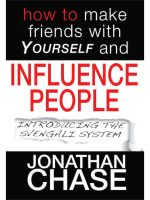 shop how to make friends with yourself and influence people jonathan chase the hypnotist #hypnoartsbooks